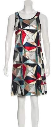 Fendi Embellished Shift Dress