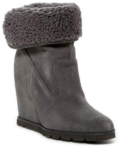 UGG UGG Australia Kyra Genuine Shearling Wedge Boot