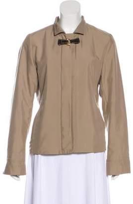 Loro Piana Zip-Up Long Sleeve Jacket
