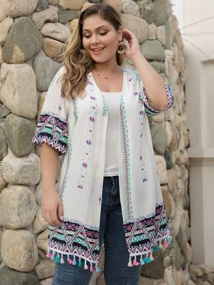 2121e7f16c Tribal Print Jacket - ShopStyle
