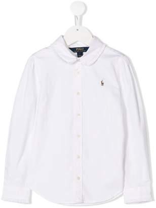 Ralph Lauren Kids peter pan collar shirt
