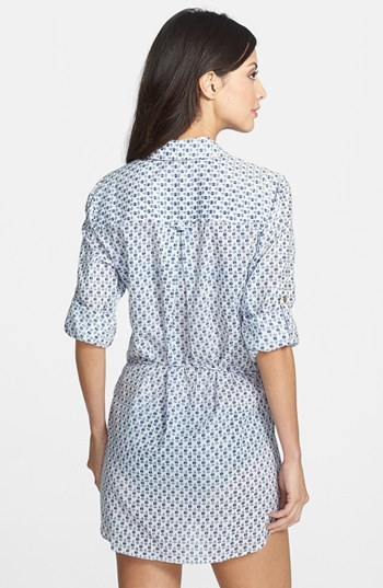 Tory Burch 'Boria' Belted Tunic Cover-Up