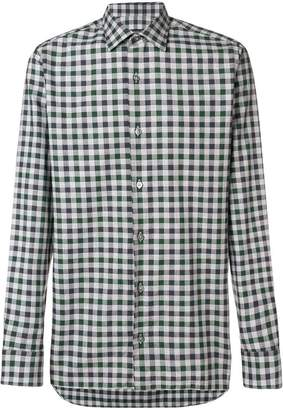 Ermenegildo Zegna checked shirt