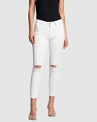 RES Denim Kitty Skinny Crop Jeans