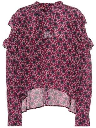 Isabel Marant Libel floral-printed silk blouse