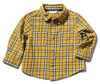 M&Co Brushed cotton check shirt
