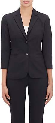 The Row Women's Essentials Two-Button Schoolboy Jacket - Black