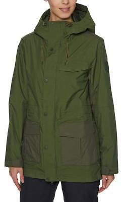 Burton Snow Jackets Runestone Snow Jacket - Rifle Green/Forest Night