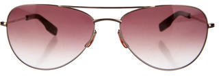 Paul Smith Gradient Aviator Sunglasses $65 thestylecure.com