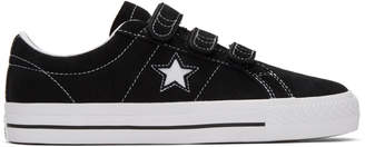 Converse Black Suede One Star Pro Sneakers