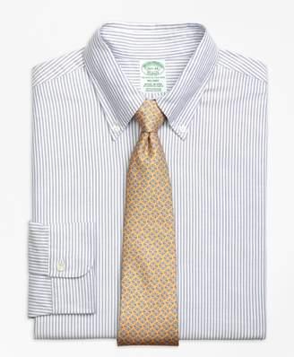Brooks Brothers Original Polo Button-Down Oxford Milano Slim-Fit Dress Shirt, Bengal Stripe