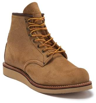 "Red Wing Shoes 6"" Round Suede Boot - Factory Second"