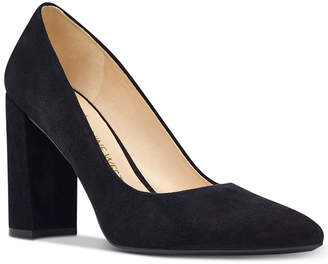 Nine West Astoria Block-Heel Pumps Women's Shoes