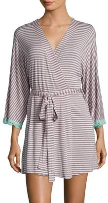 Honeydew Intimates Women's All American Striped Robe