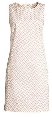 Peserico Women's Polka Dot Sleeveless Shift Dress