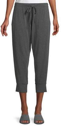 Eileen Fisher Cropped Lightweight Jersey Harem Pants