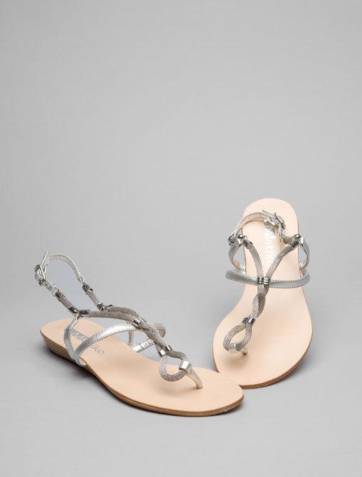 Matiko Chain Sandal in Silver