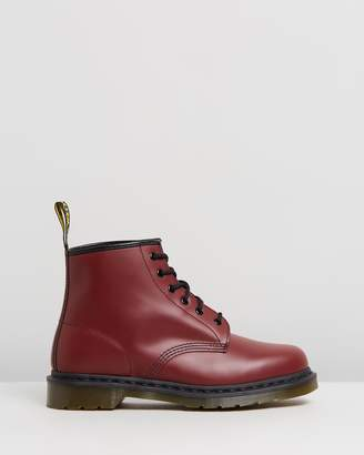 Dr. Martens 101 Smooth 6-Eye Boots - Women's