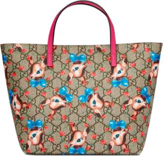 Gucci Children's GG fawns tote