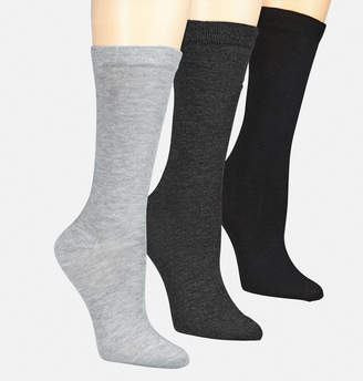 Avenue Classic Flatknit Trouser Socks 3-Pack