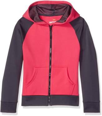 Hanes Big Girls' Tech Fleece Raglan Zip Hood