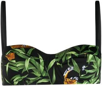 MC2 Saint Barth Birkey printed bikini top