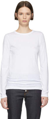 Rag & Bone White The Long Sleeve T-Shirt