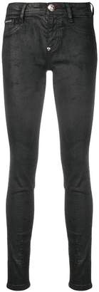 Philipp Plein coated skinny jeans