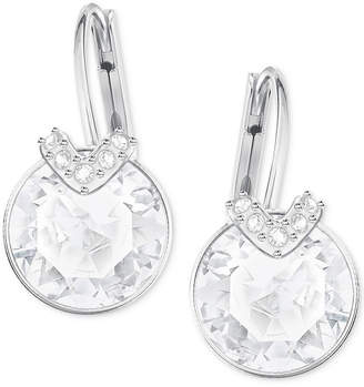 140d3c99b Swarovski Clear Crystal Drop Earrings - ShopStyle