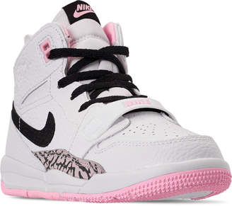 official photos f9dcf f6ac9 Pink And Black Nike Air Jordan - ShopStyle