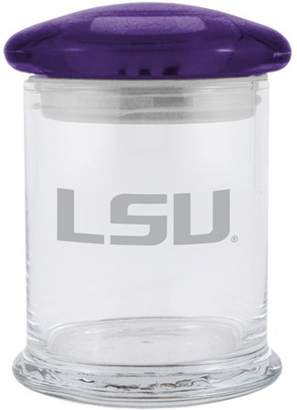 NCAA 12oz LSU Tigers Glass Candy Jar