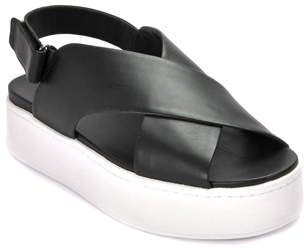 Vince Weslan - Leather Criss Cross Sandal
