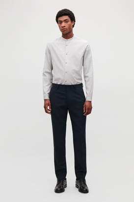 Cos WOOL SEERSUCKER TROUSERS