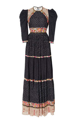 Ulla Johnson Salma linen and cotton blend gown