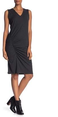 Kenneth Cole New York Gathered Knit Sleeveless Dress