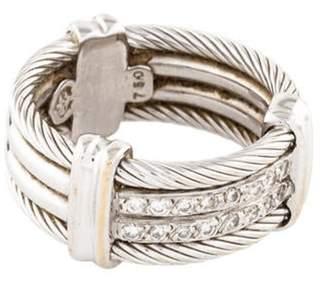 Charriol 18K Diamond Band white 18K Diamond Band