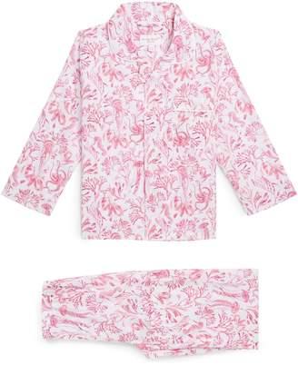 Derek Rose Sea Creature Pyjama Set