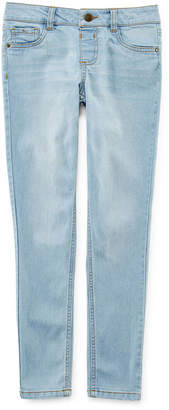 JCPenney Total Girl Light Wash Jeggings - Girls 7-16 and Plus