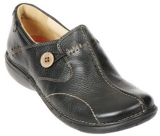 Clarks Leather Slip-on Shoes - Un.Loop
