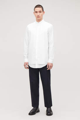 Cos DOUBLE LAYER COTTON SHIRT