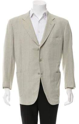 Luciano Barbera Wool & Silk-Blend Sport Coat