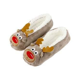 914a76687b72e at Amazon Canada · Zarbrina Cute Women Slippers Animal Winter Warm Soft  Indoor Slipper Home Shoes Flats Non-Slip