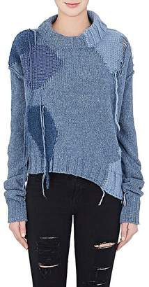 Acne Studios Women's Ovira Wool-Blend Crop Sweater