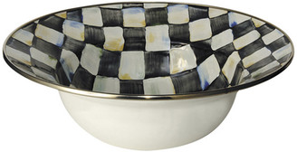 Mackenzie Childs Courtly Check Serving Bowl