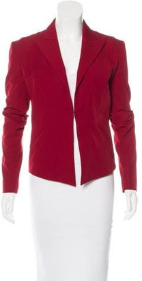 Jean Paul Gaultier Wool Long Sleeve Blazer $175 thestylecure.com