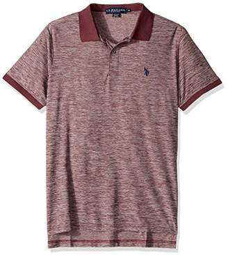 U.S. Polo Assn. Men's Classic Fit Solid Short Sleeve Poly Pique Shirt