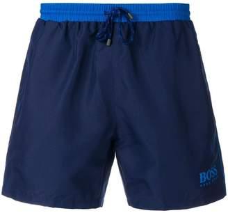 HUGO BOSS swim logo shorts