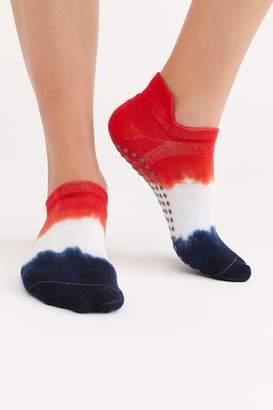 Great Soles Lady Liberty II Ombre Grip Socks