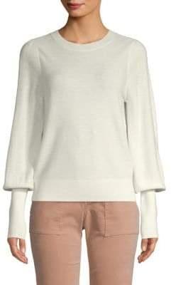 Joie Noely Bishop-Sleeve Sweater