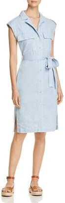 Donna Karan Chambray Shirt Dress